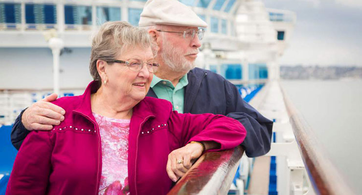 five tips for older people on cruise holidays