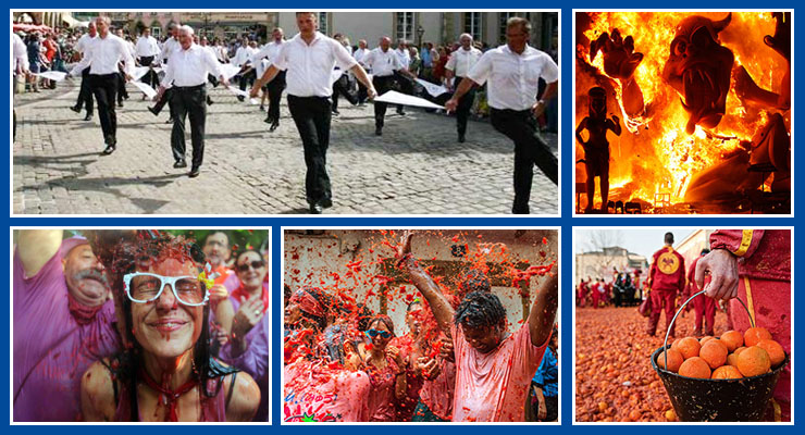 weird festivals europe