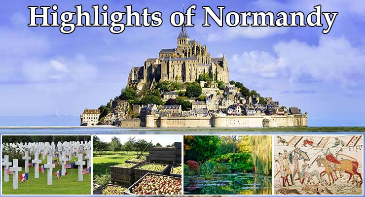 highlights of normandy