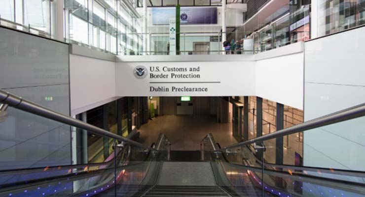 Dublin Airport US preclearnace