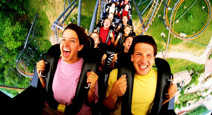 top theme parks UK