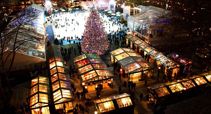 bryant park new york christmas shopping guide