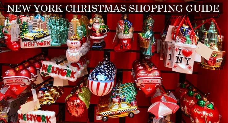 new york christmas shopping guide
