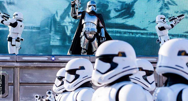 Season of the Force Disneyland Paris Star Wars First Order March