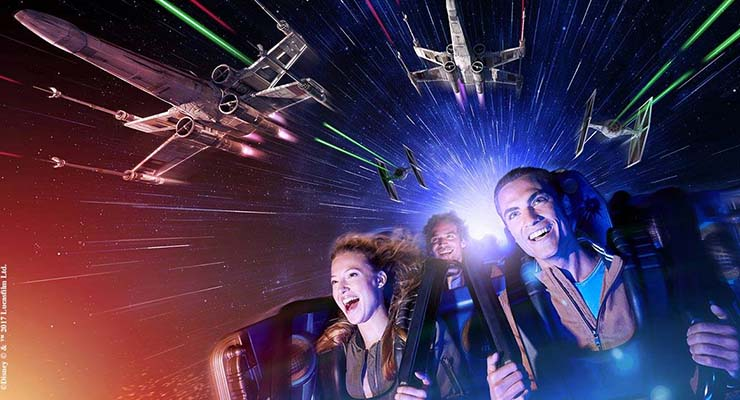 Season of the Force Disneyland Paris Star Wars Space Mountain