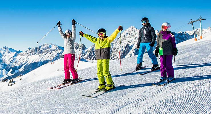 ski resorts for beginners in austria