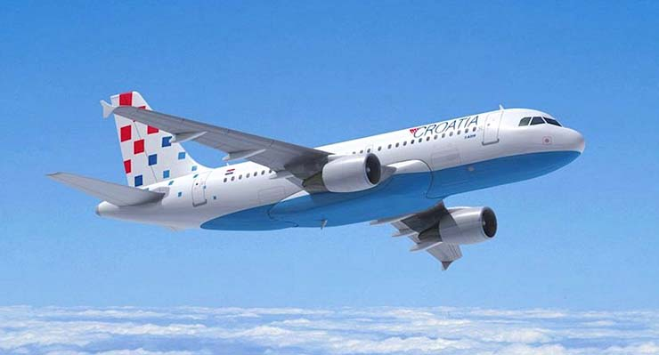 croatia airlines direct flights from dublin to zagreb