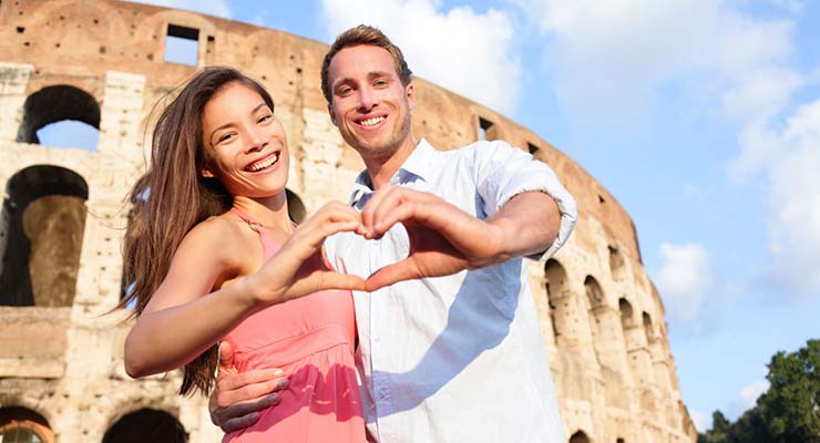 honeymoon destinations for irish couples italy