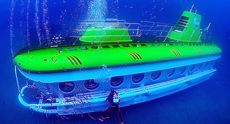 submarine safari Lanzarote