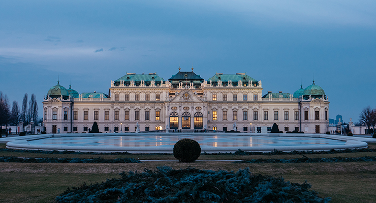 Belvedere Palace upper side