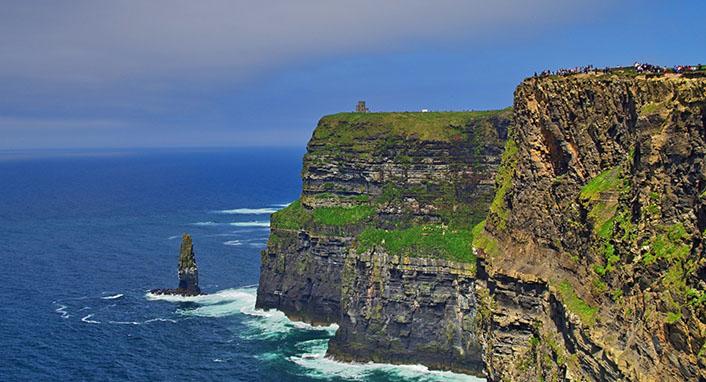 Cliffs of moher Irish scenic drives insure my holiday drives irish holiday insurance